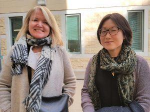 Anne Kingston and Hannah Sung