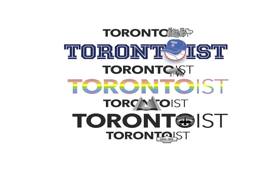 Torontoist 7 variations of logos