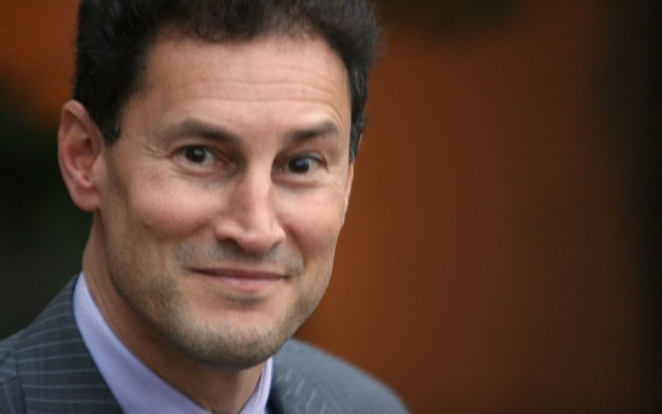 Steve Paikin, host of TVO's The Agenda, poses. Former mayoral candidate Sarah Thomson is accusing Paikin of sexually harassing her. (Joey Coleman/Creative Commons)