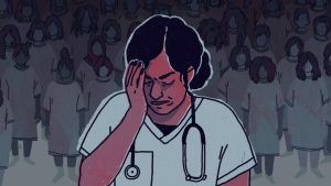 A recent feature on The Local examined the role nurses play in assisting those affected by sexual violence (Illustration: Marley Allen-Ash, The Local)