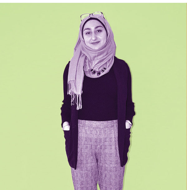 A portrait of Reem Sheet