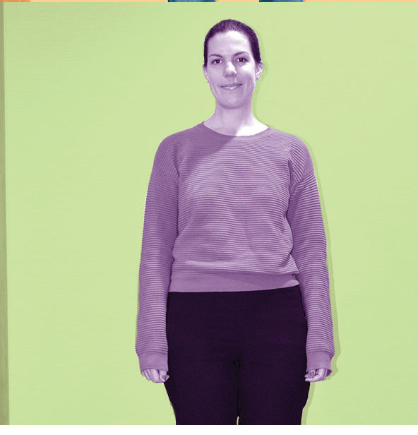 A portrait of Emma Overton
