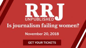 RRJ Unpublished: Is journalism failing women