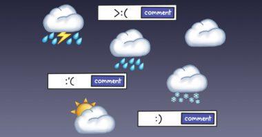 Weather emojis