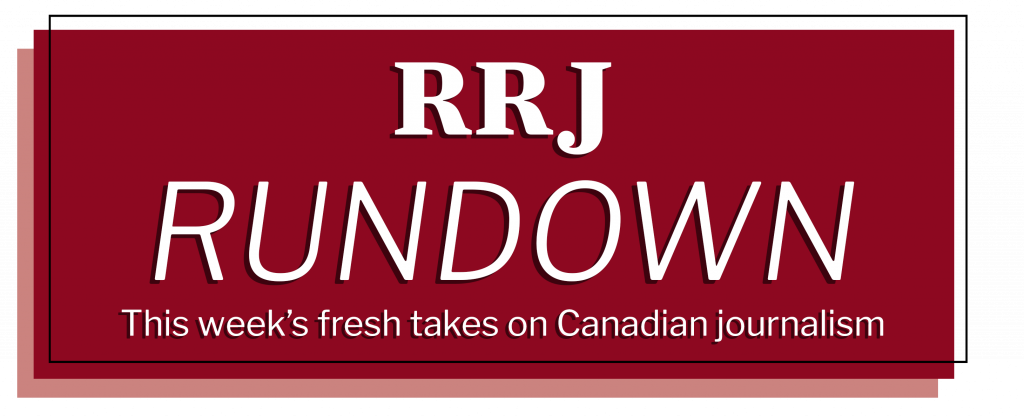 RRJ Rundown Newsletter