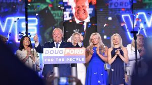 Ontario Premier Doug Ford after his win