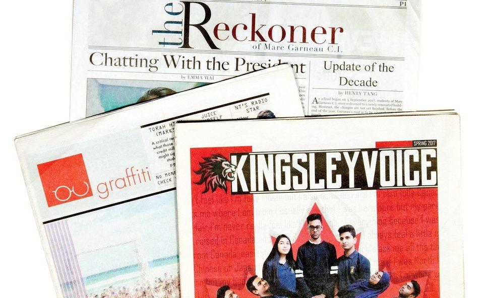 Kingsley Voice, student newspaper