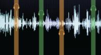 Descriptive image of soundwaves
