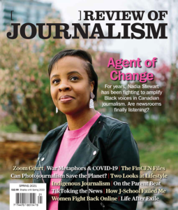 [ ] Review of Journalism Spring 2021 Cover